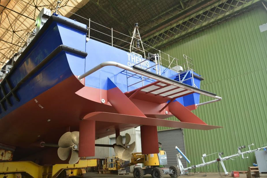 Video Hull Vane Retrofit Improves OPVs performance 1