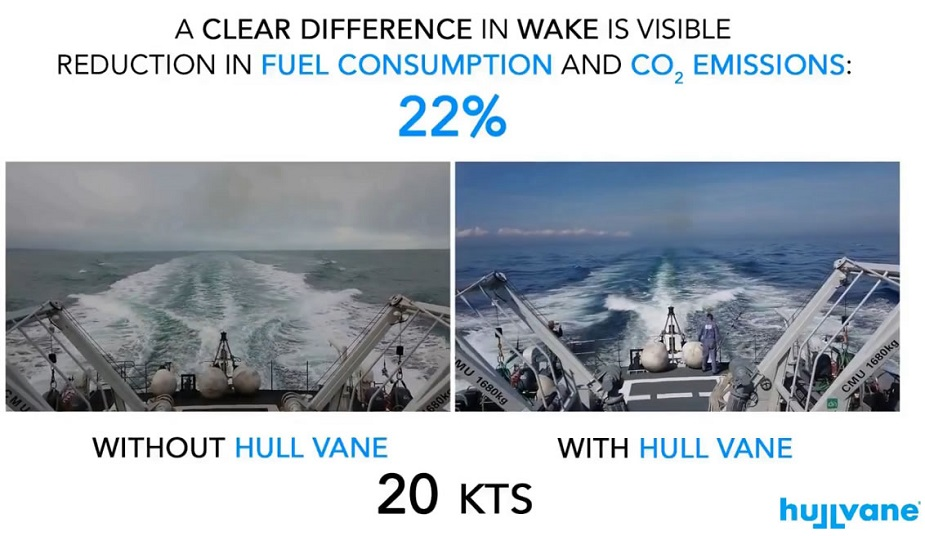 Video Hull Vane Retrofit Improves OPVs performance 2