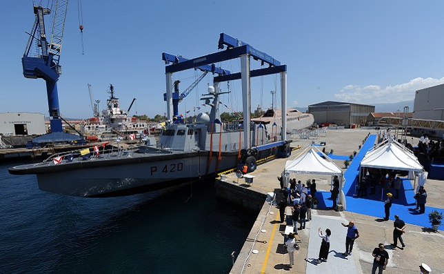 1st UNPAV High Speed Vessels for Italian Navy Special Forces Launched 2