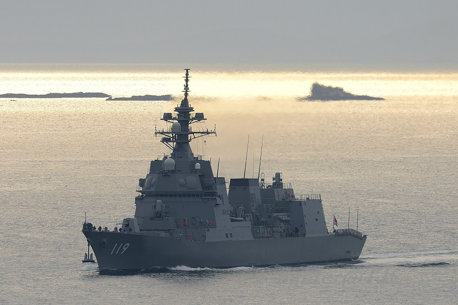 JMSDF Commissions its First 25DD class Asahi ASW Destroyer