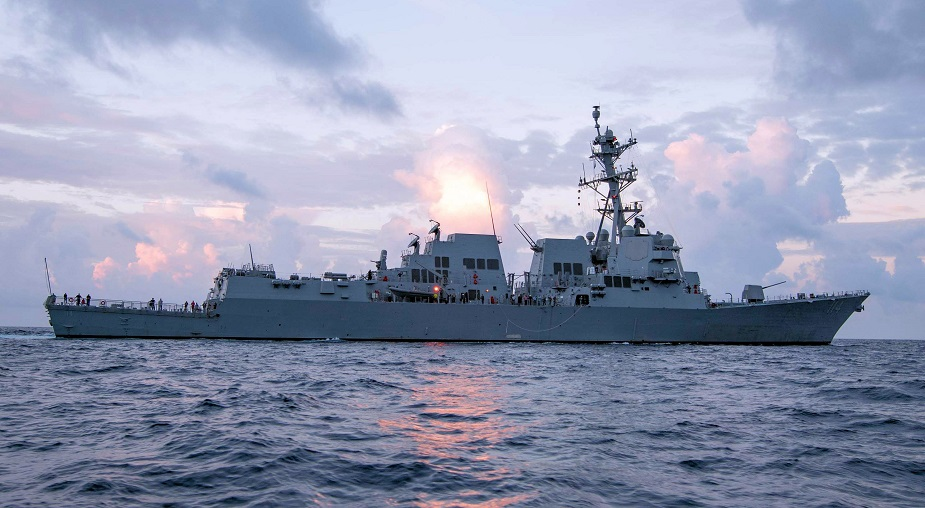 U.S. Navy Commissioned 65th Burke class Destroyer USS Ralph Johnson DDG 114 2
