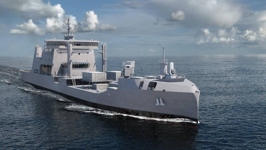 FarSounder Sonar for Royal New Zealand Navy Future HMNZS Aotearoa Tanker