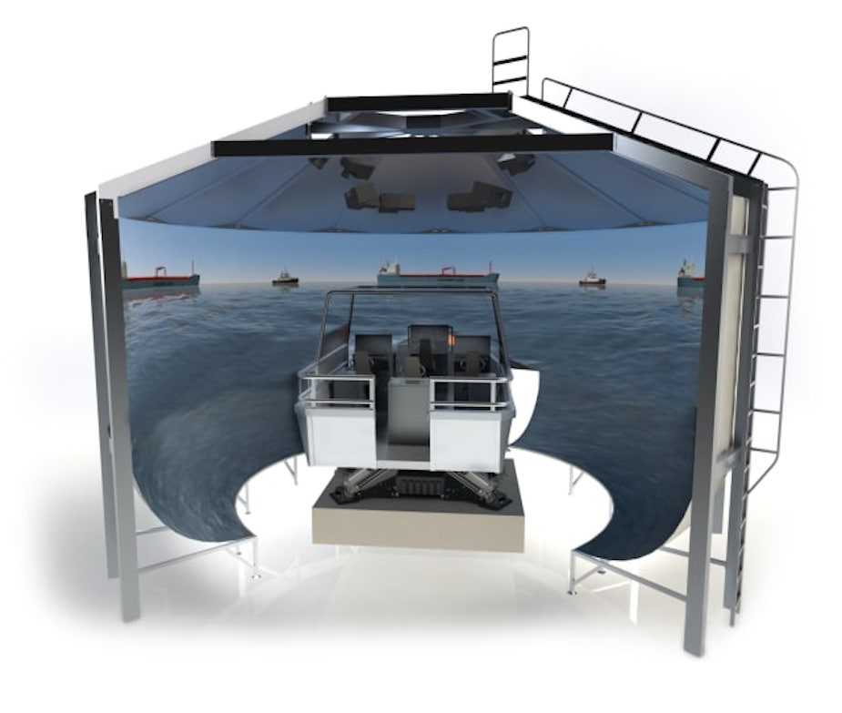 Kongsberg awarded record breaking maritime simulator contract