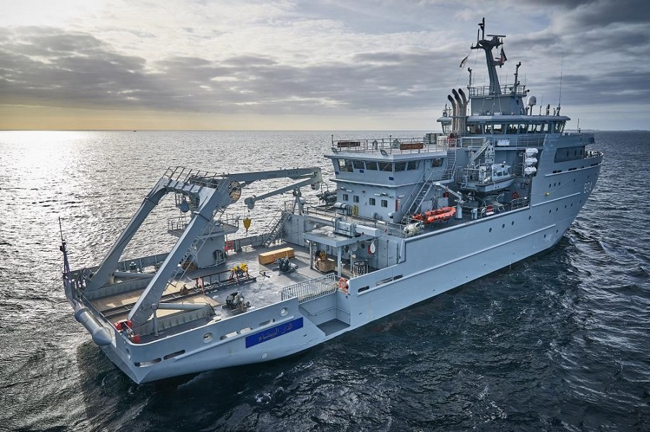 PIRIOU delivers Hydro oceanographic and Multi Missions vessel to Royal Moroccan Navy 1