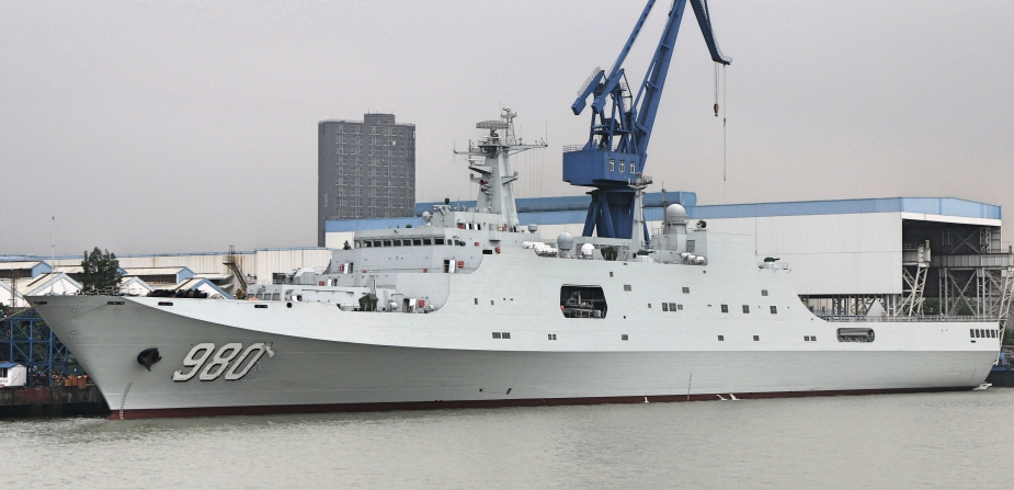 Chinas Fifth Type 071 LPD Longhushan Commissioned with the PLAN 2
