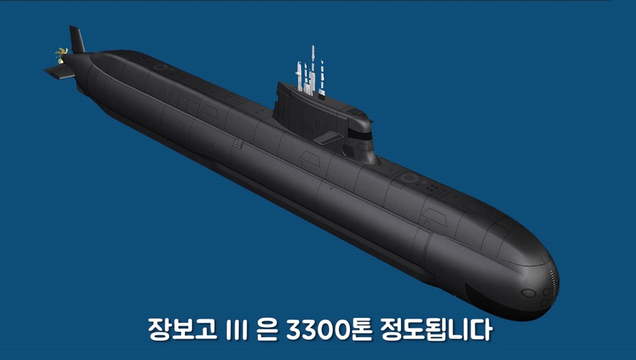 DSME to Launch ROK Navys First 3000 tons KSS III Submarine on Friday