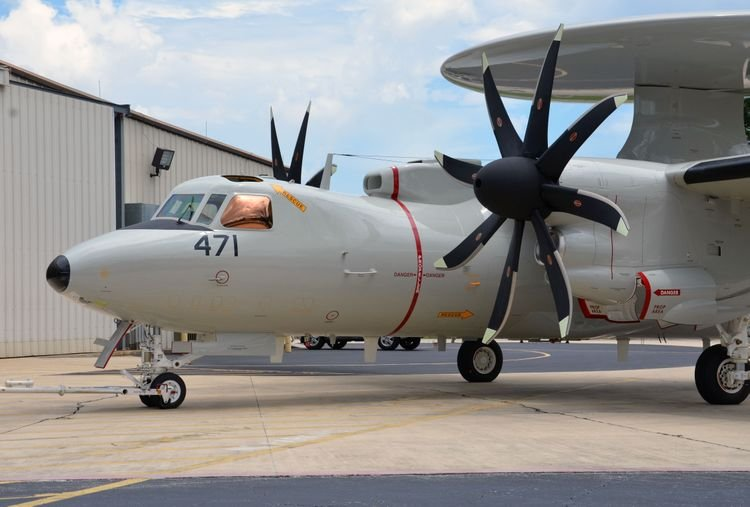 Northop wins 164M order for Japan E 2D Advanced Hawkeye AWACS production 001