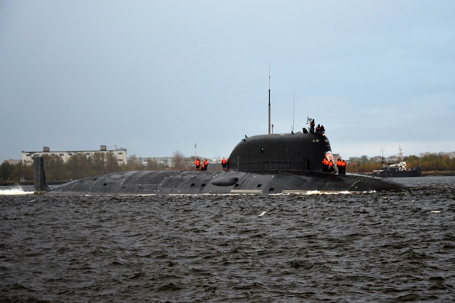 Russias Project 885M Yasen M Submarine Kazan Started Sea Trials 1