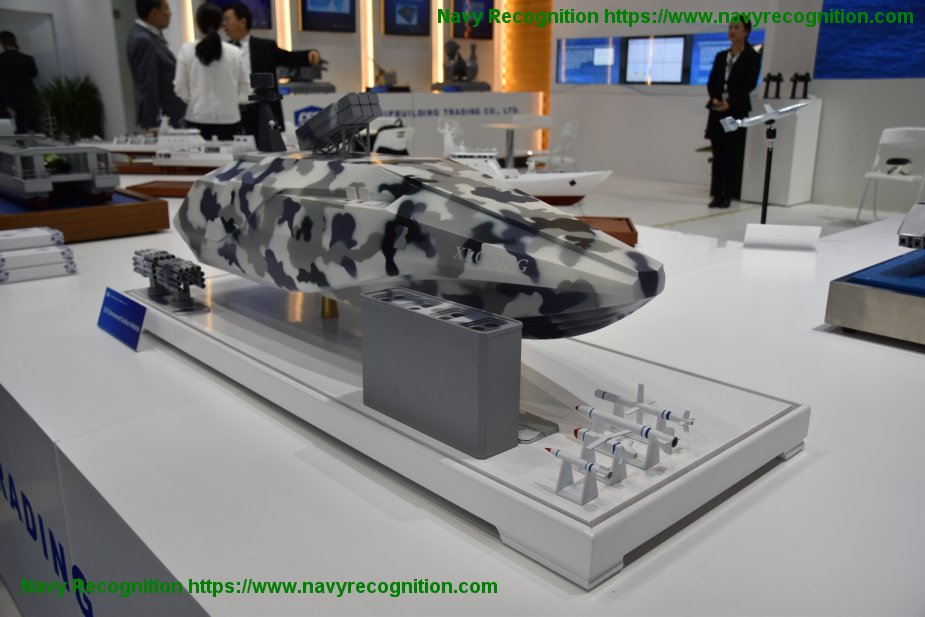 NAVDEX 2019 China Shipbuilding Trading Co unveiled its XLOONG USV 925 003