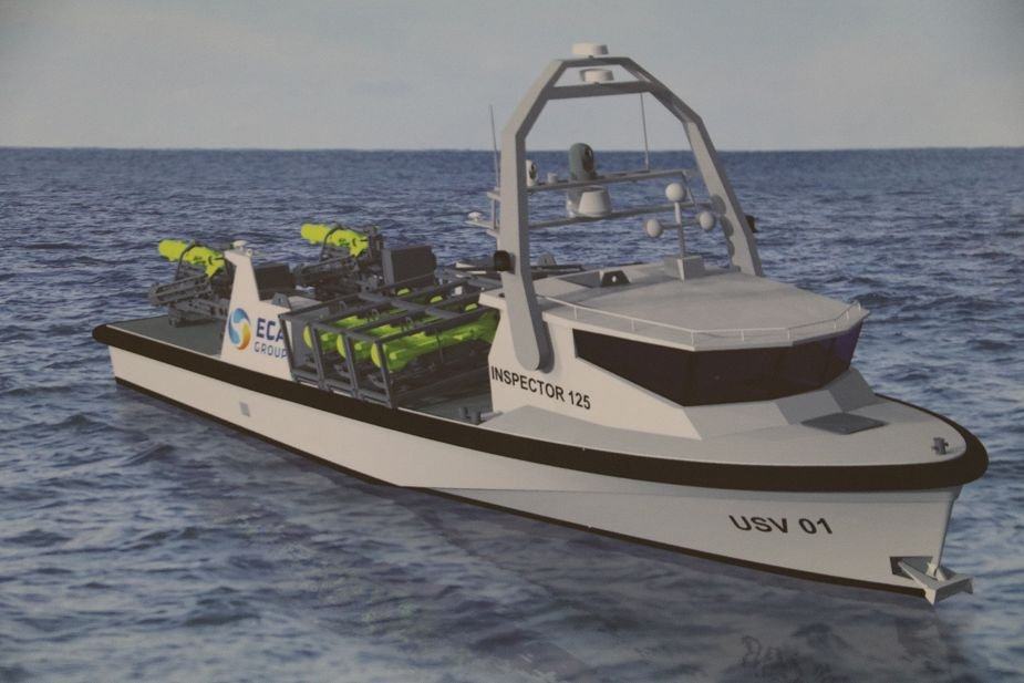 NAVDEX 2019 ECA unveils its new unsinkable USV