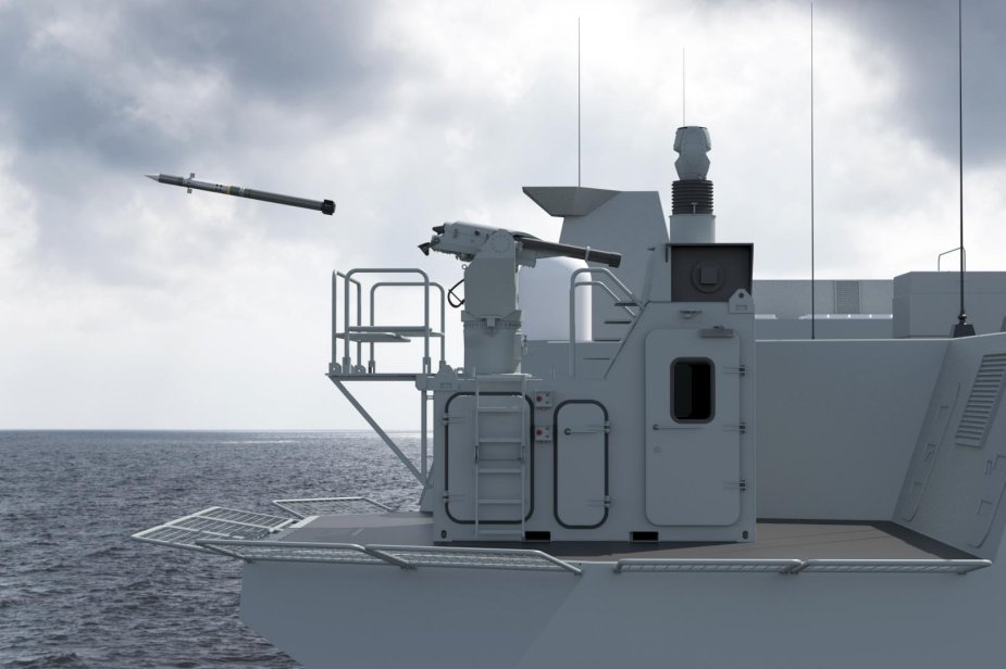 NAVDEX 2019 MBDA unveiled the SPIMM