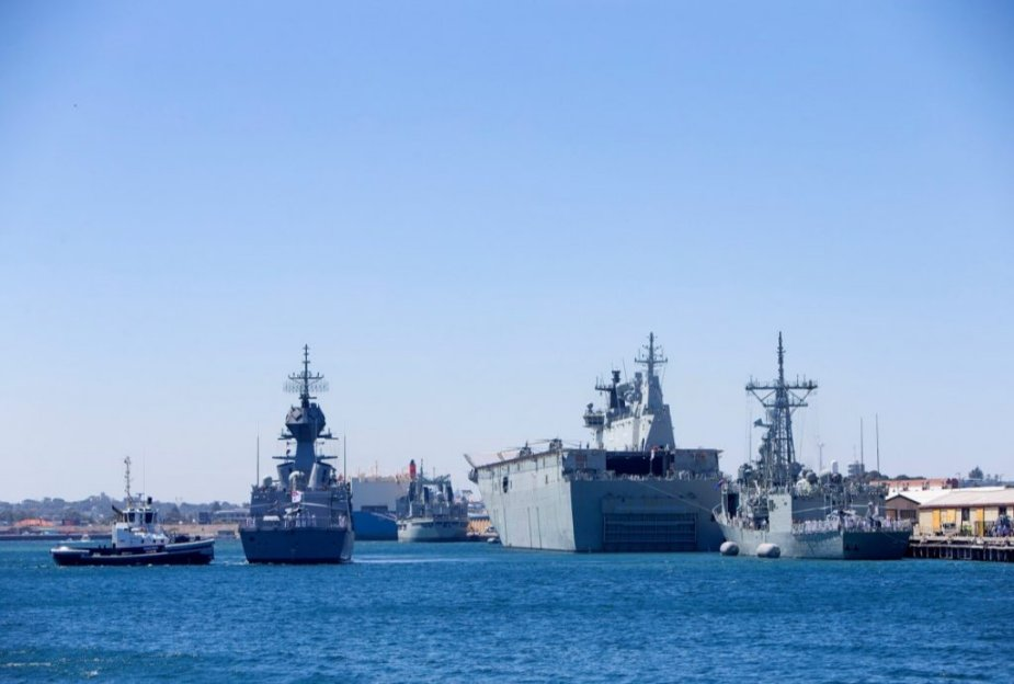 Australia kicked off Indo Pacific Endeavour 19 deployment