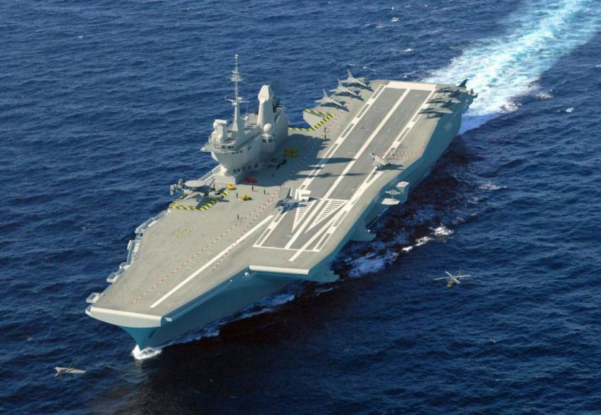 Germany suggested the creation of a European aircraft carrier