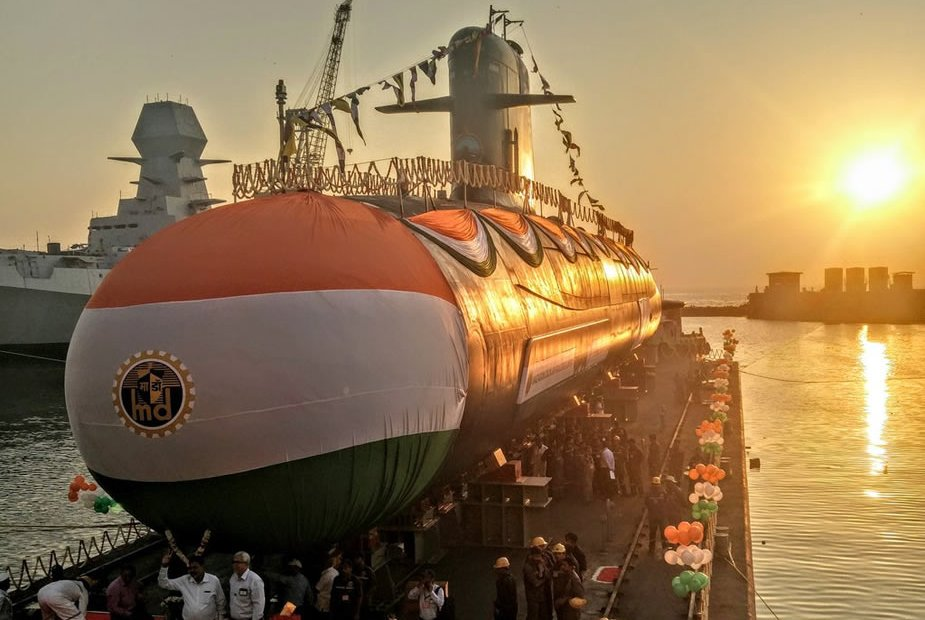 Indian Navy to induct second Scorpene sub by early May