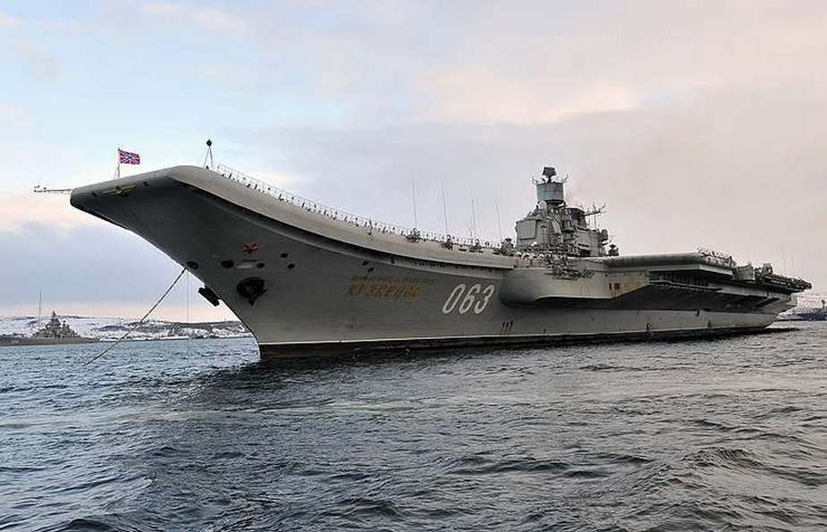 Russian USC says aircraft carrier overhaul could be delayed
