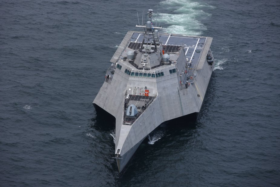 US Navy to commission LCS Charleston