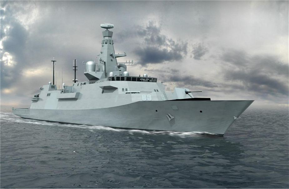 First steel was cut today for HMS Cardiff second Type 26 anti submarine frigate 925 001