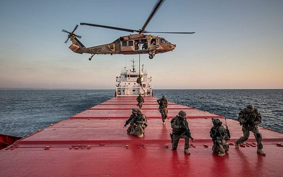 Israeli US special forces practice ship takeovers amid high tensions in Gulf 925 001