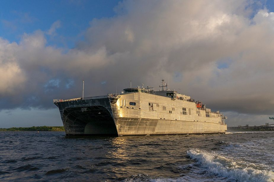 Successful sea trials for USNS Puerto Rico EPF 11 Expeditionary Fast Transport EPF 925 001