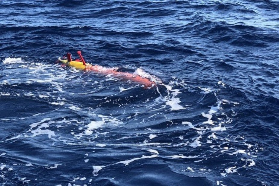 China Tests New Undersea Vehicle for Marine Environment Monitoring 925 001