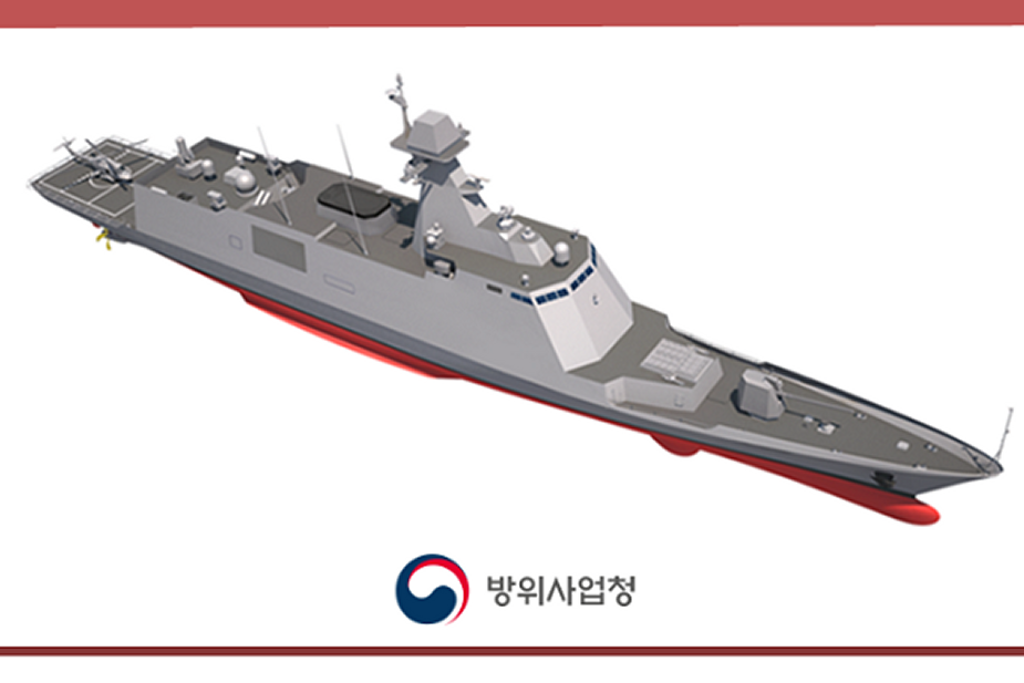 Contract for design construction of RoKNs first FFX III frigate Expected For Early 2020 925 001