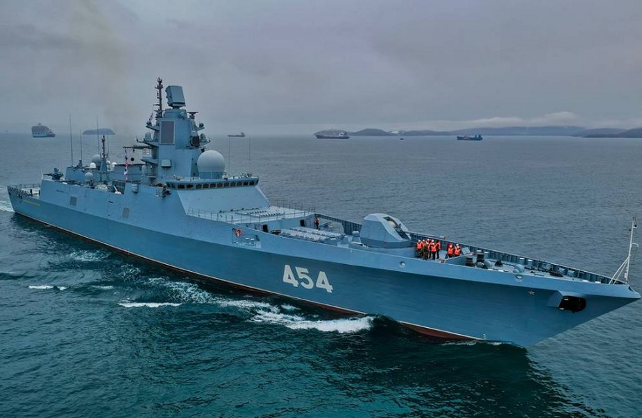 Russia laid down two Gorshkov class frigates of Project 22350 925 001