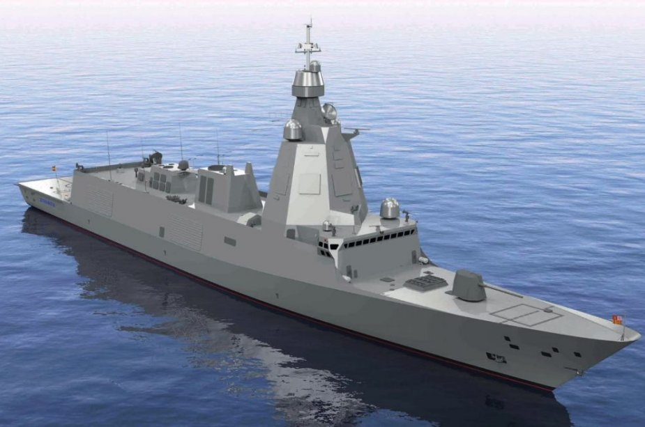 Spain to start the building of its new F 110 frigates this year 925 001
