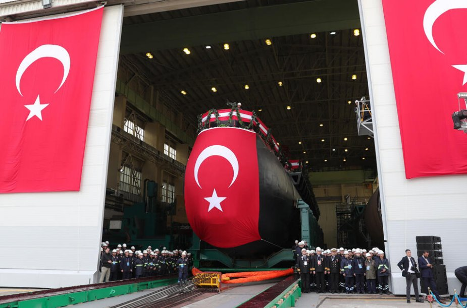 Turkey to boost naval forces with 6 new submarines entering service in 2022 2027 925 001
