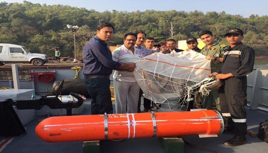 Indian Navy has tested air droppable support containers 925 001