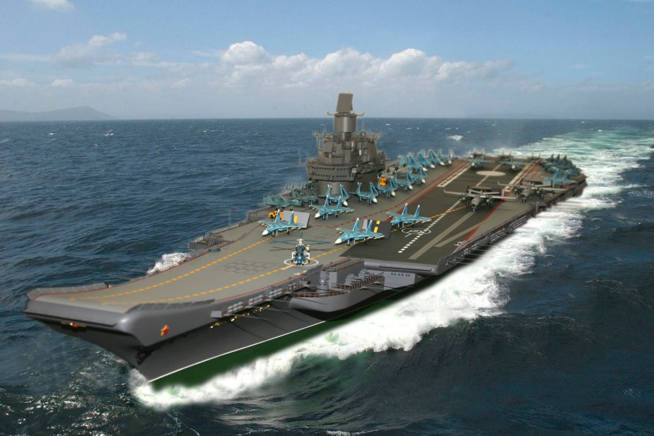 New Russian aircraft carrier likely to be developed from project 11437 take 1 925 001