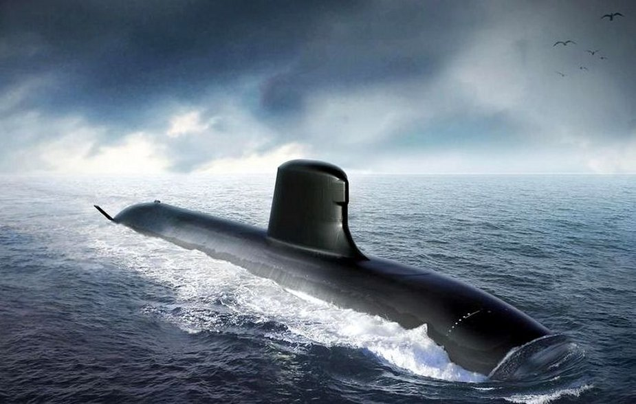 France presents Suffren, new nuclear attack submarine of Barracuda class
