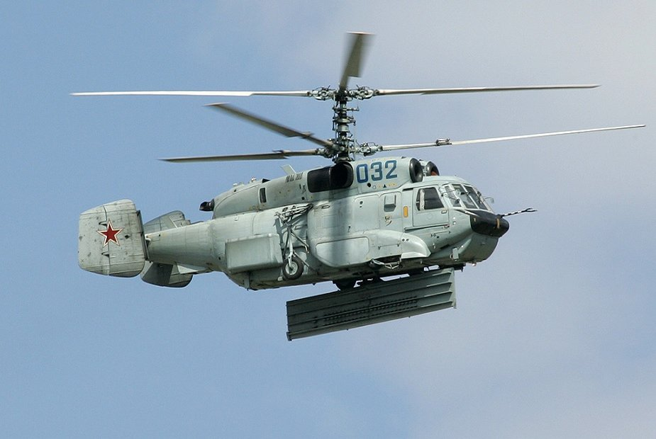 Indian Navy to get 10 Ka 31 helicopters from Russia