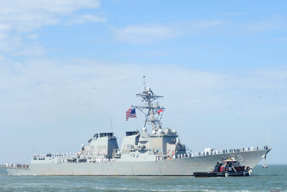 Raytheon awarded contract to repair electronics on USS Oscar Austin
