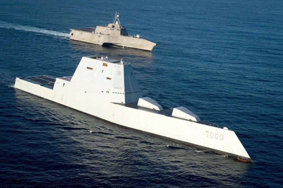 USS Zumwalt land attack destroyer to fire new missiles and laser weapons