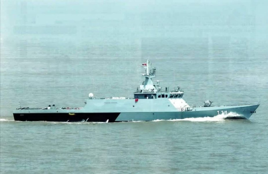 Royal Malaysian Navy first KD Keris LMS 111 Undergoes Sea Trials 925 001