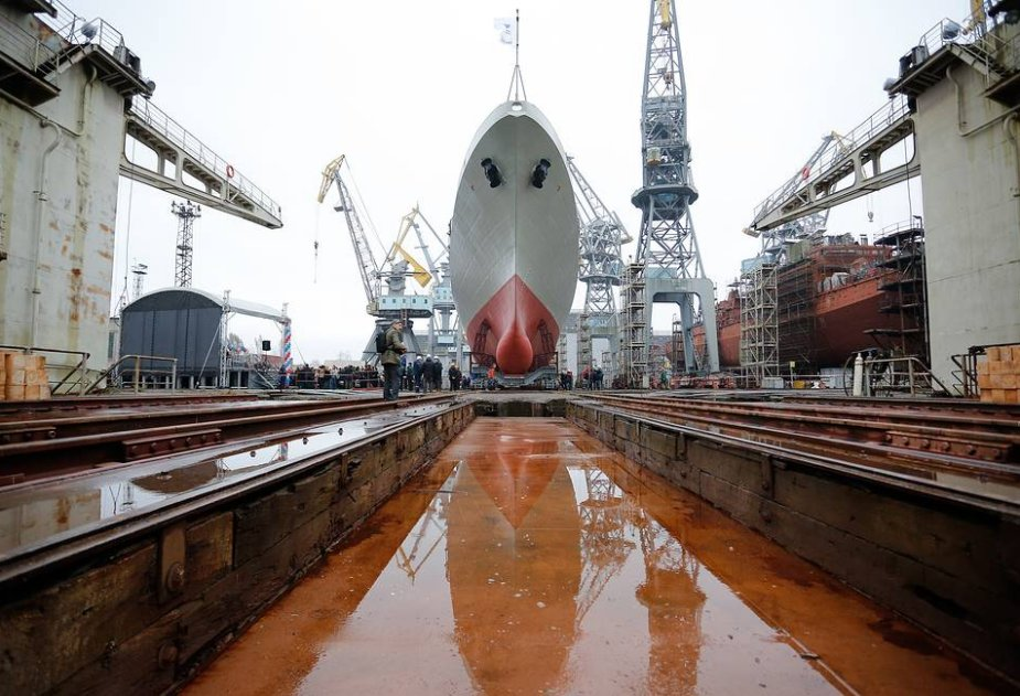 India fully pays for frigates under construction for its Navy at Russian shipyard 925 001