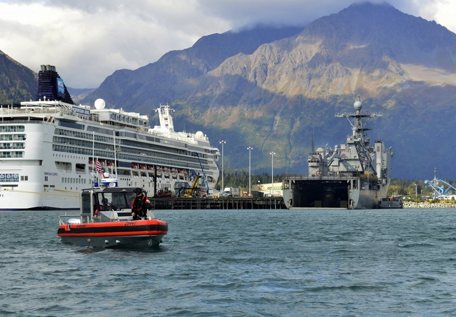 U.S. Coast Guard training with Marines and Navy in Alaska exercise 925 001