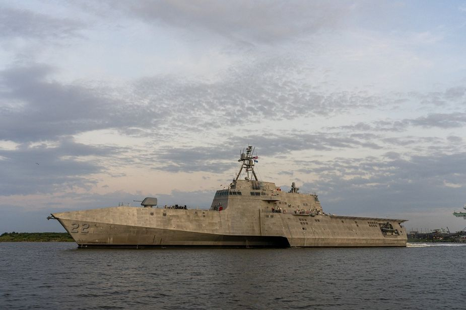 Austal USA has delivered its 11th Littoral Combat Ship LCS to the U.S. Navy 925 001