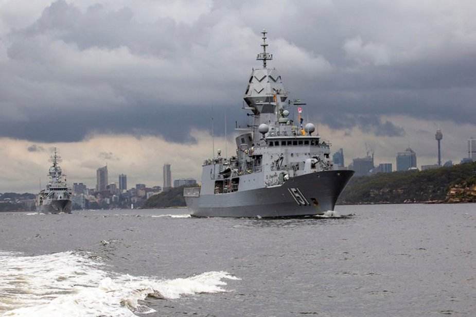 Australian Navys Warships depart Sydney for first major Fleet exercise of 2020 925 001
