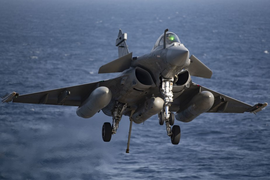 French Navy New Rafale M F3 R Conducts First Operational Missions 925 001