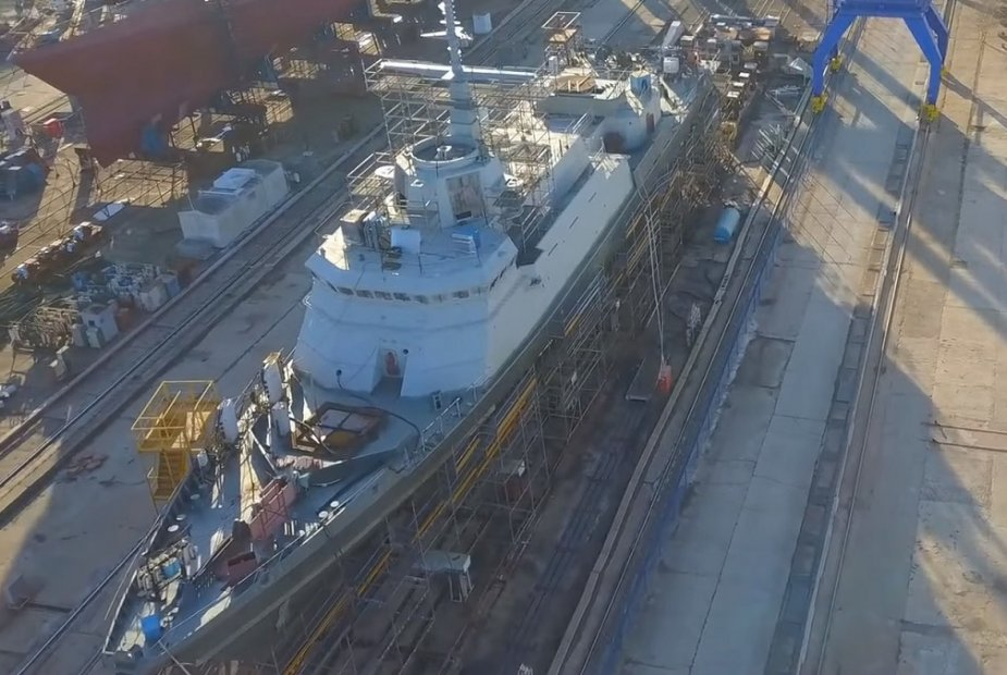 Three Russian Navy Karakurt Class guided missile corvettes to be soon completed 925 001