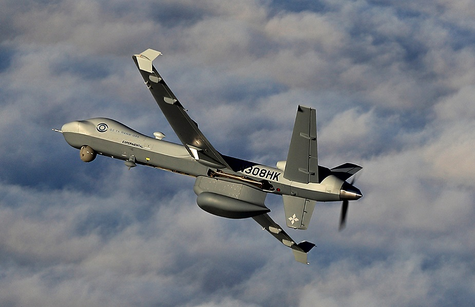 General Atomics MQ 9 Guardian Remotely Piloted Aircraft System demonstrates maritime surveillance capabilities in Greece
