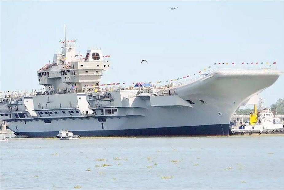 Indian made aircraft carrier Vikrant will be commissioned by early 2021 925 001