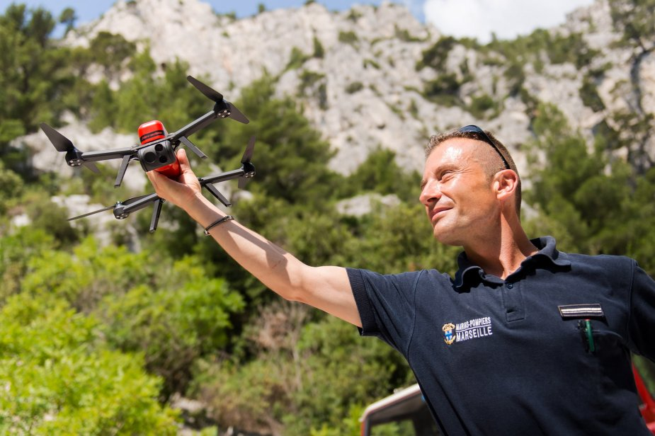 Marseilles Navy Firefighters Battalion acquires Novadem NX70 micro UAVs 925 001