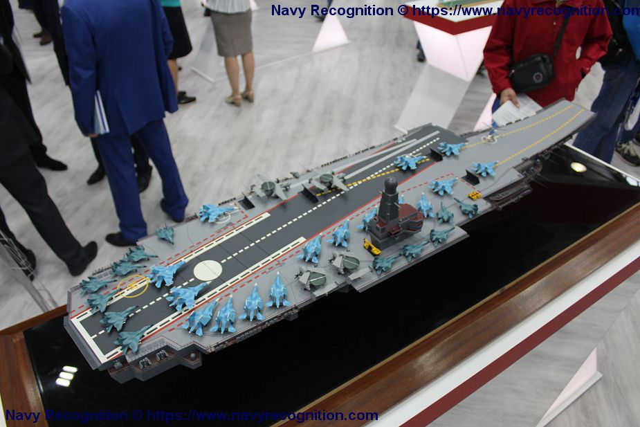 Russia wishes to have a new aircraft carrier to strengthen its Naval Forces 925 002
