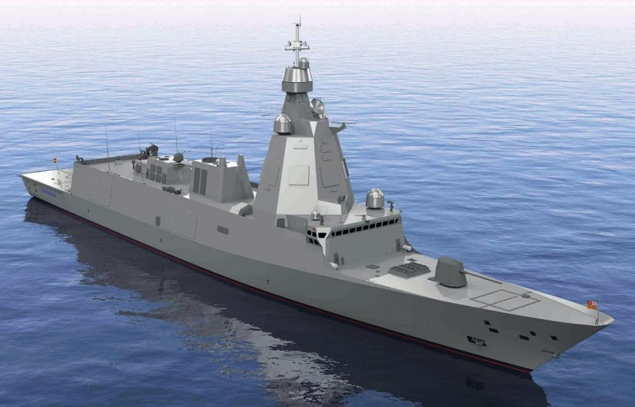 Thales integrated sonar suite selected for Spanish Navys new multi mission frigates