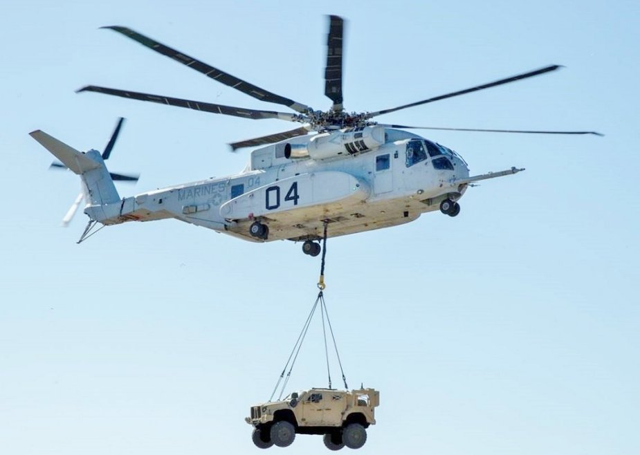 U.S. Marines NAVAIR declare CH 53K Heavy Lift King Stalion engine problems resolved