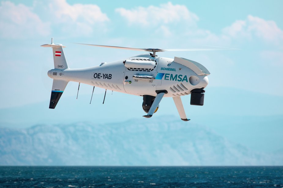 Finnish Border Guard will operate the Schiebel CAMCOPTER S 100 for maritime surveillance 925 001