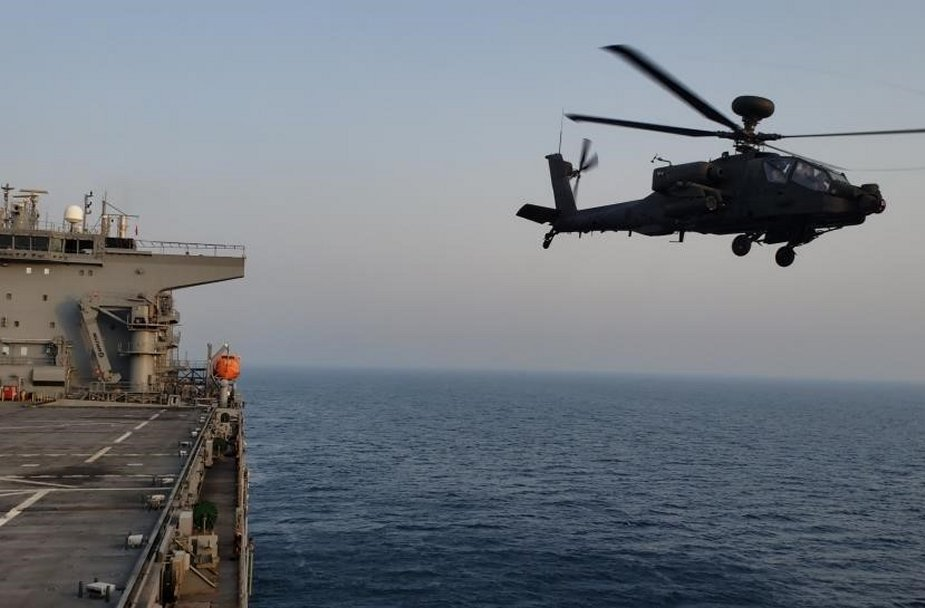 UAE and US Naval Forces Conduct Combined Joint Operations in Arabian Gulf 925 001
