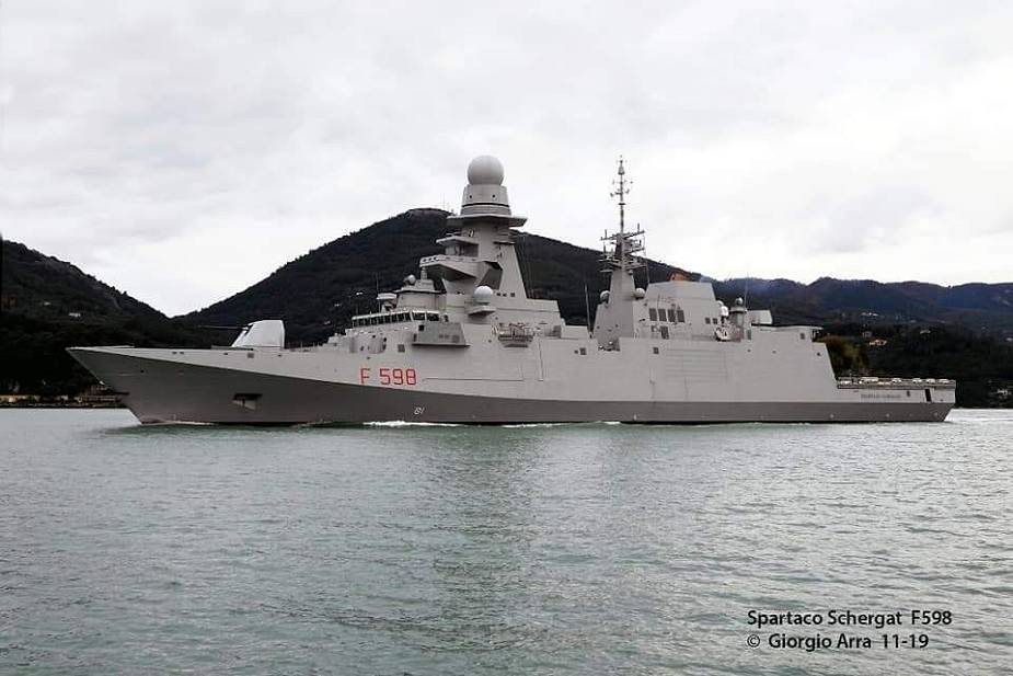 Italy approves the sale of two Fincantieri FREMM frigates for Egyptian Navy 925 001